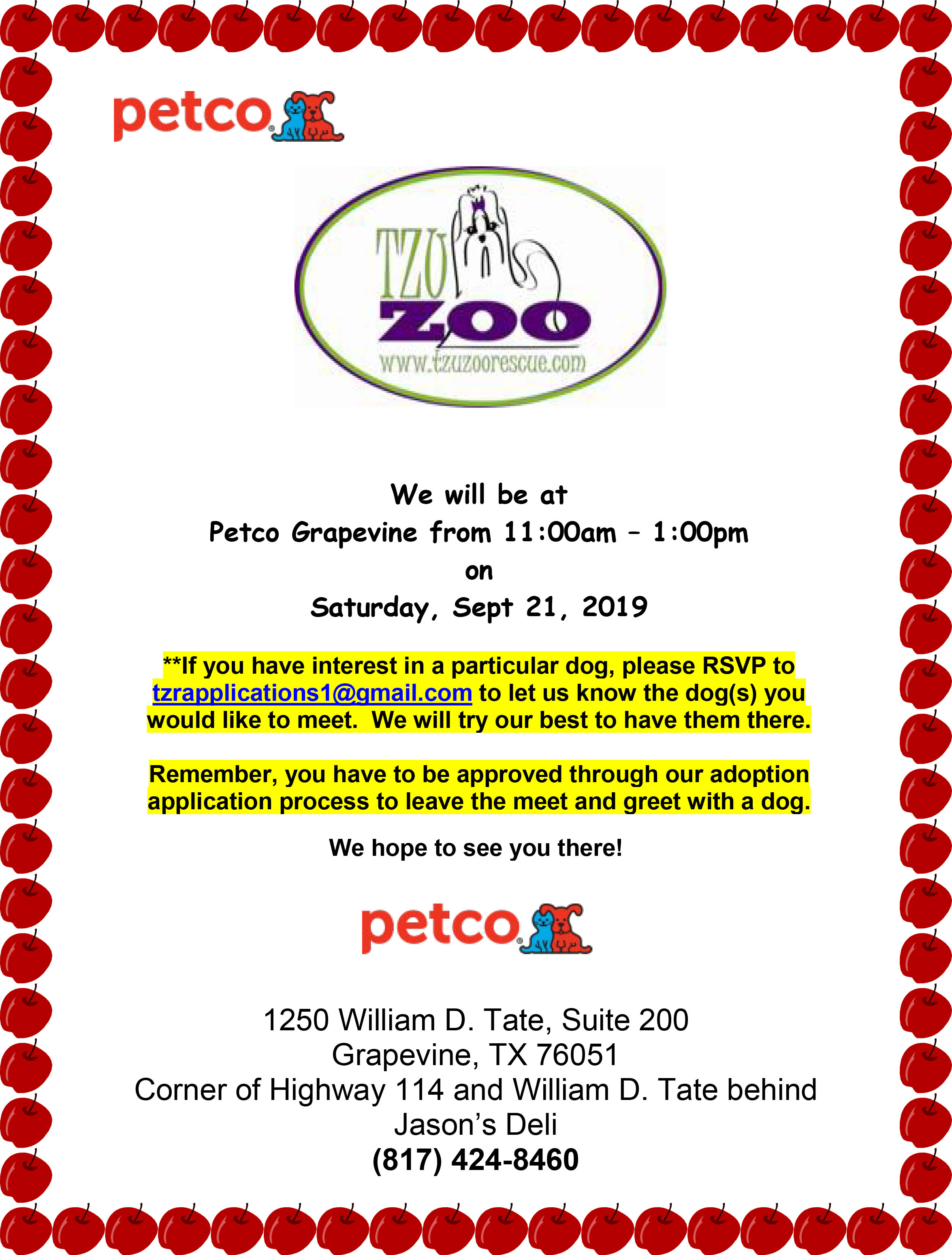 Meet & Greet - Petco, Grapevine