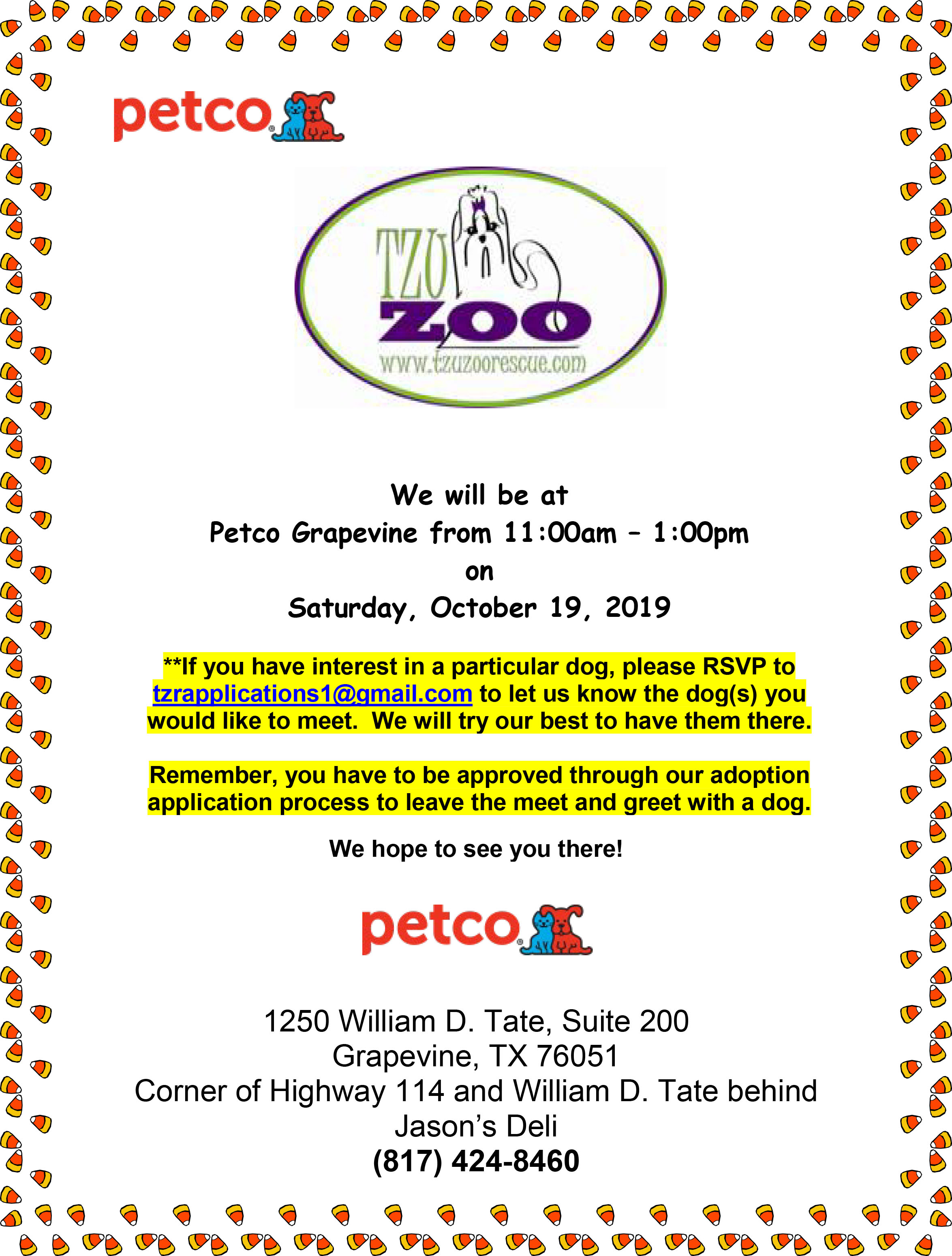Meet & Greet, Petco, Grapevine