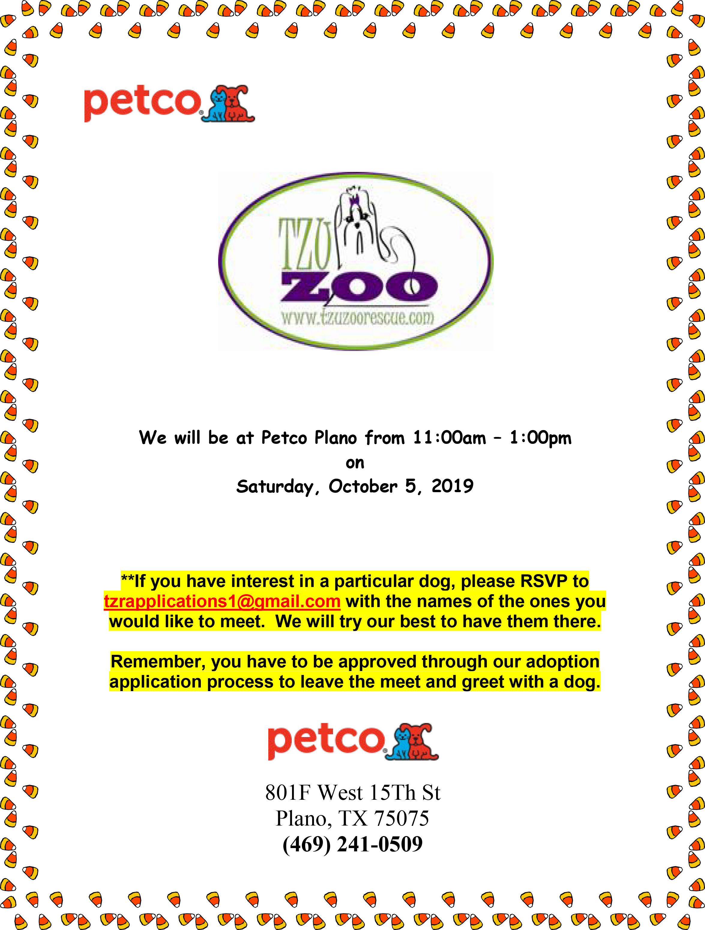 Meet & Greet - Petco, Plano