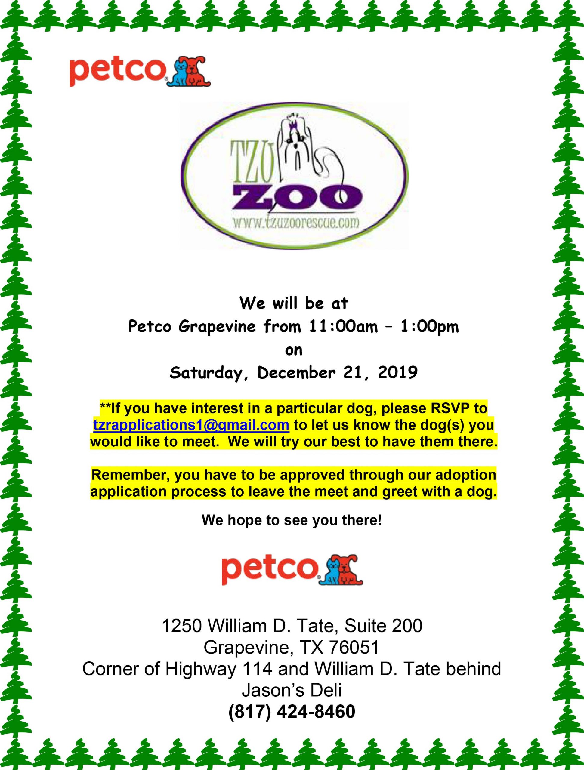 Meet & Greet - Petco Grapevine