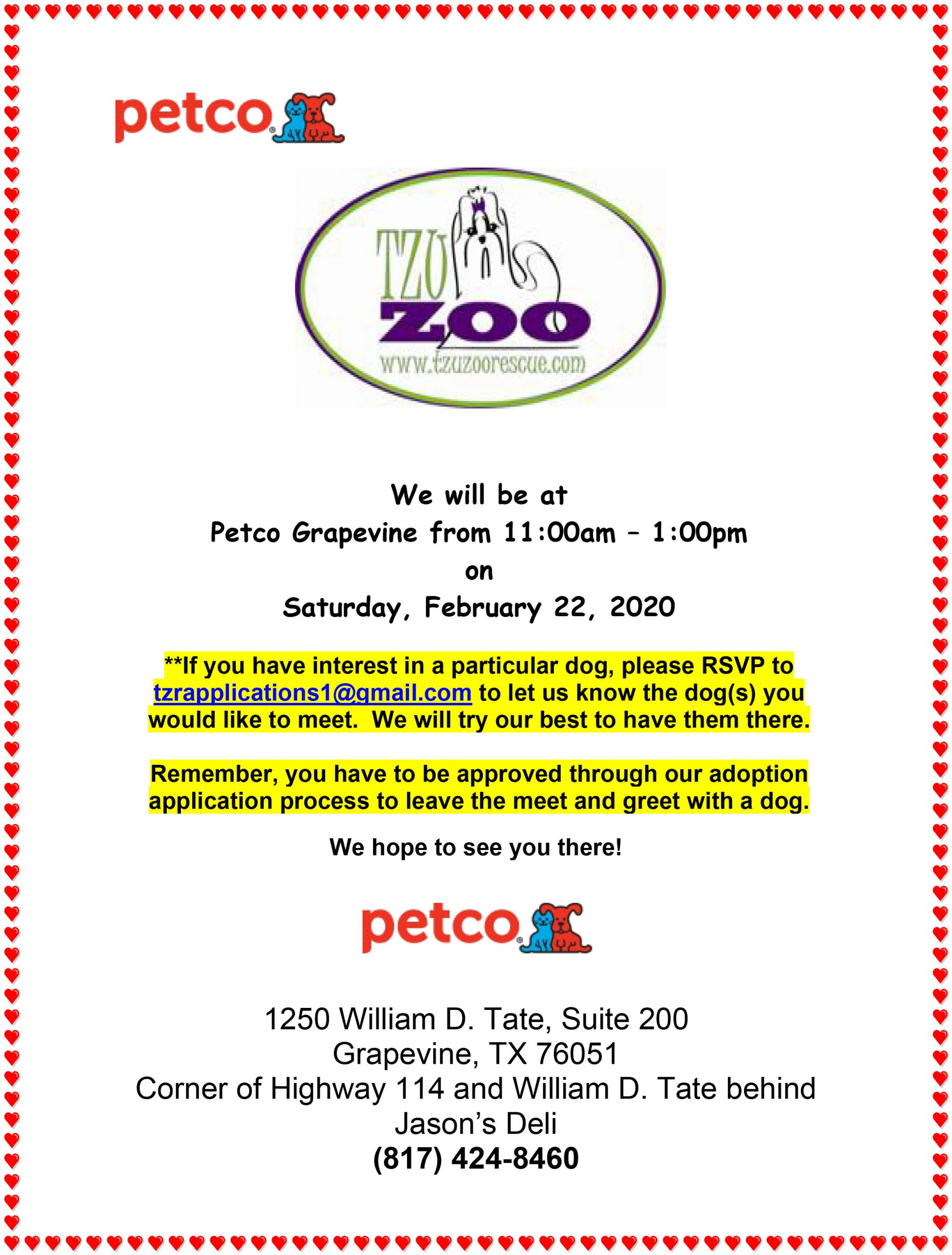 Meet & Greet, Petco, - Grapevine, TX